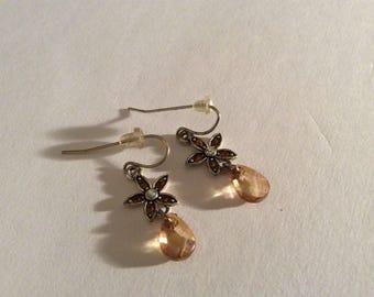 Cute Flower Dangle Earrings