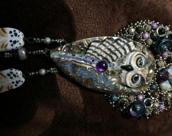Loco Amethyst Owl