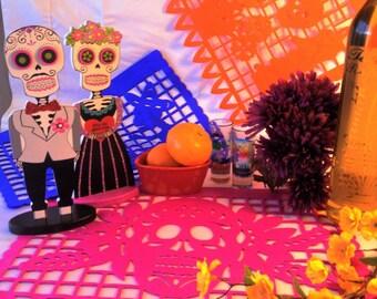 Day of the Dead Altar Paper - Dia de los Muertos Papel Picado - Cut Paper