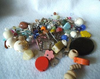DESTASH Bead Mix and Findings Grab Bag