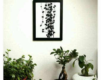 Black Chinese lanterns