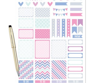 Planner Stickers Weekly Kit - Whisper
