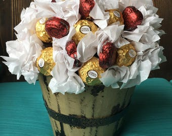 Chocolate bouquet featured on Idaho Living