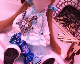 Poupée décorative. Poupée de textile