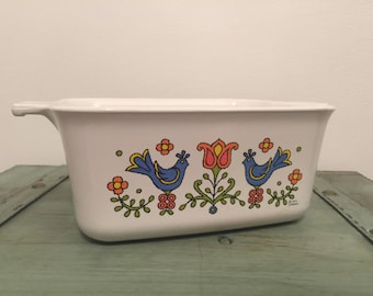 Corning ware country festival friendship Pan P-4-B Pyrex - no lid