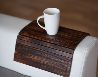 Wood sofa arm tray protectors armrest table sofa table coaster sofa tray