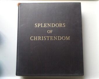 Rare antique book of Christian Art.
