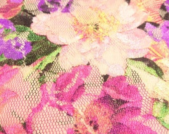 Blossom Net Fabric - 56 Inches Wide