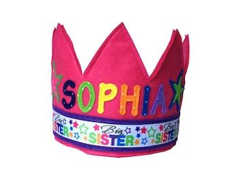 Big Sister Crown - Personalized / Custom Version