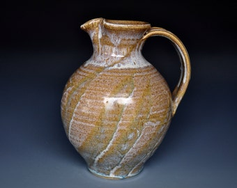 Pottery Pitcher Ceramic Pitcher Stoneware Pitcher Vase