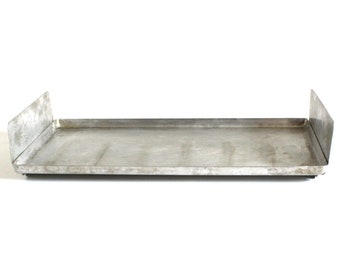Vintage General Electric Toast-R-Oven Tray A4T93B A12T93B Replacement Part Aluminum Toaster Oven Baking Sheet with Sides