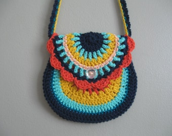 Girl's Crocheted Purse ~ Savannah
