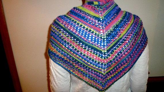 Hand knit Shawl/scarf
