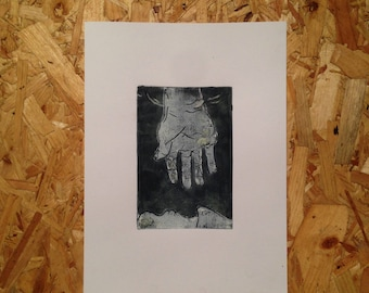 Reaching - Print
