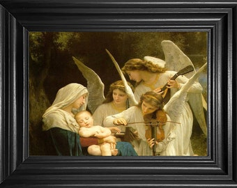 Mary Baby Jesus Angels Counted Cross Stitch Patterns Instant PDF Download