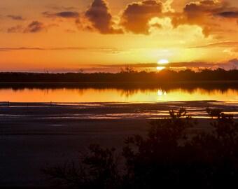 Sunrise in Cabo Rojo Panorama Photo Prints