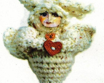 Our Lady of the Hours Crocheted Doll PDF Pattern