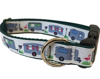 "1"" Camper Dog Collar Buckle or Martingale"