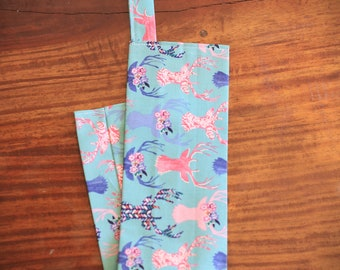 Pink Deer Stethoscope Cover