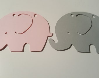 Elephant Garland, stringing elephants, elephant party decorations