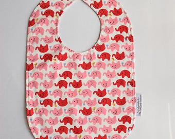 Baby Bibs - Baby girl bib - Reversible Bib - Cotton bibs - Personalized bib - Newborn gift - Feeding bib - Toddler bib - Mix & Match bib