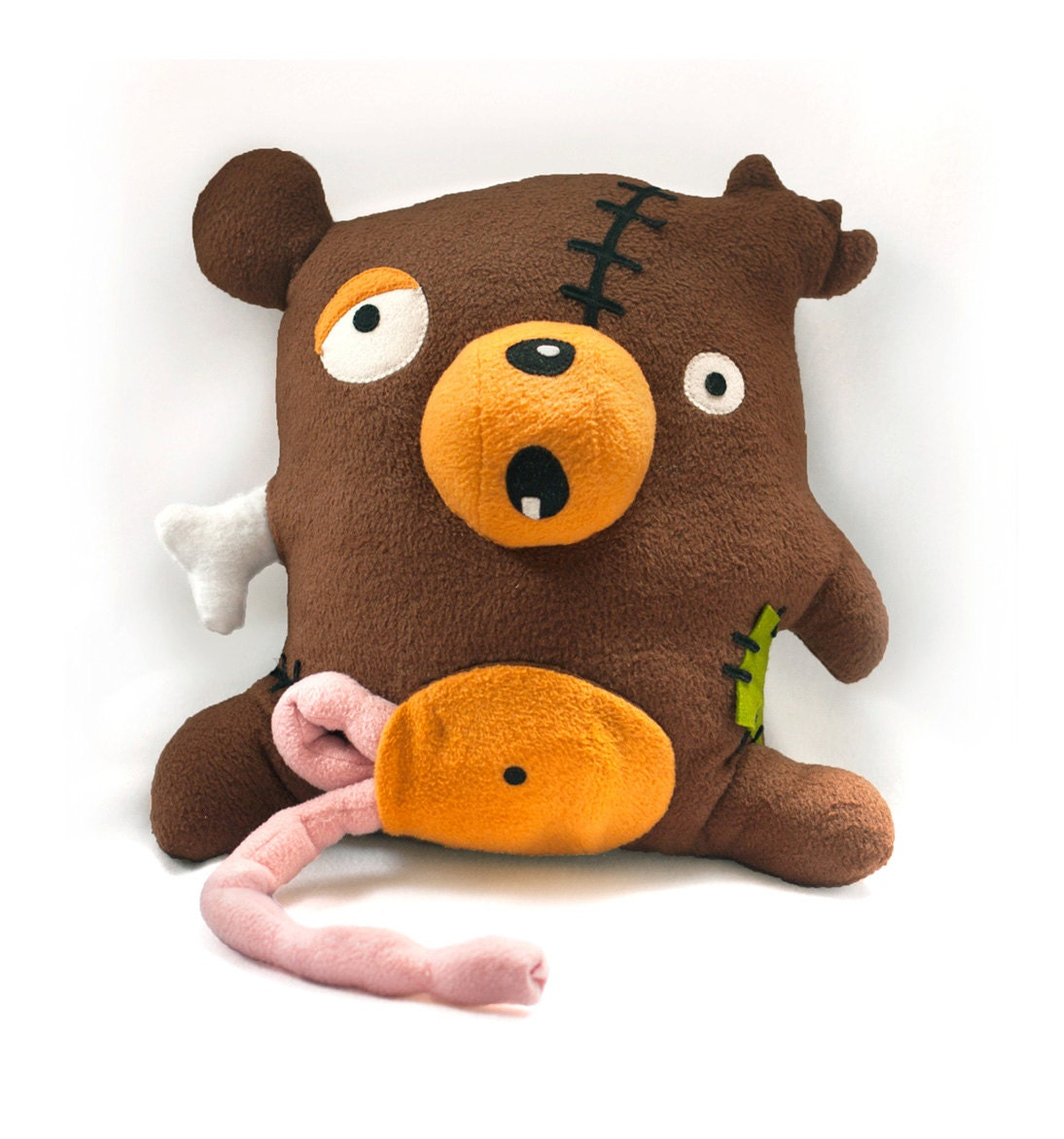 Zombie bear pattern pdf stuffed animal sewing pattern zoom jeuxipadfo Images