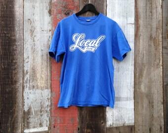 Local Enjoy T-Shirt, Retro Local T-Shirt, Surf T-Shirt, Beach T-Shirt | Mens Vintage Clothing | Mens Vintage Shirts