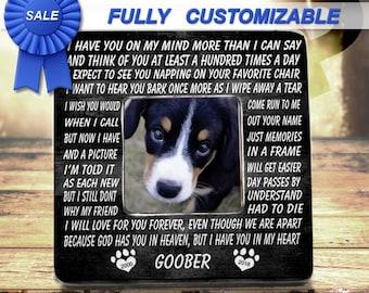 Pet Loss, Pet Memorial, Memorial Frame, Pet Memorial Frame, Dog Loss, Dog Memorial, Loss Of Dog, Pet Sympathy Gift, Pet Loss Frame, Fur Baby