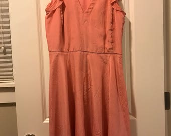 Rebecca Taylor Ruffled Silk Dress