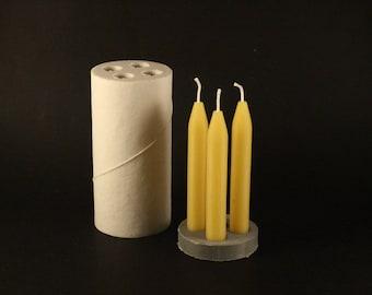 Candle mold CHRISTMAS TREE (PLAIN)