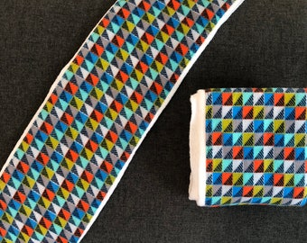 Bold Geometric - Burp Cloth