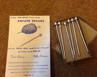 Vintage Potato Spears