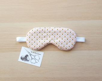 Sleeping mask / / sleep mask / / sleep accessory / / pink sleep - fan accessory