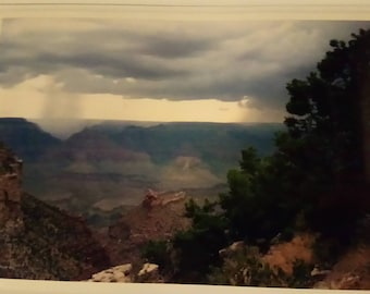 Two Storms Over the Grand Canyon