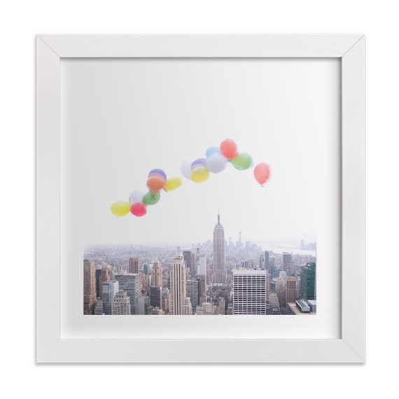 Balloons Over Manhattan Photography of New York City skyline