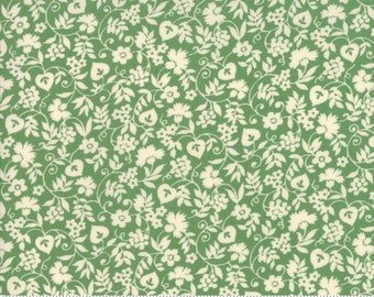 Merry Go Round Green by American Jane Moda Fabrics, 21723 15, merry go round fabric, american jane fabric, sandy klop, green quilting fabric