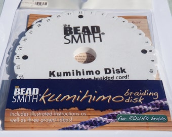 Sale ! Kumihimo Braiding Disk by The Bead Smith (Round)