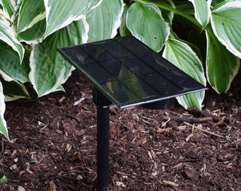 Shade Solar Light, Pathway or Garden, Patio Edge Lantern // Shade-1, Shade-2, Shade-3 or Direct Sunlight