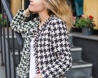 Jacket in Chanel style