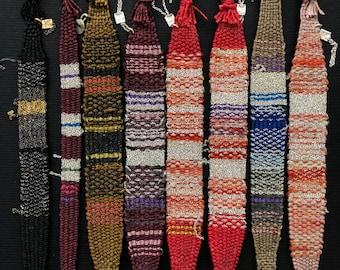 Loom woven bracelet. Kohanim collection.