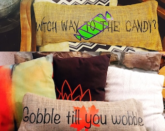 Funny Fall Pillow