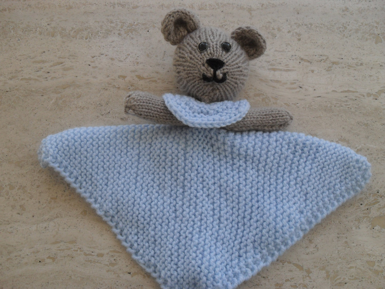 Instant Download Knitting Pattern Quick And Easy Baby Bear Buddy ...