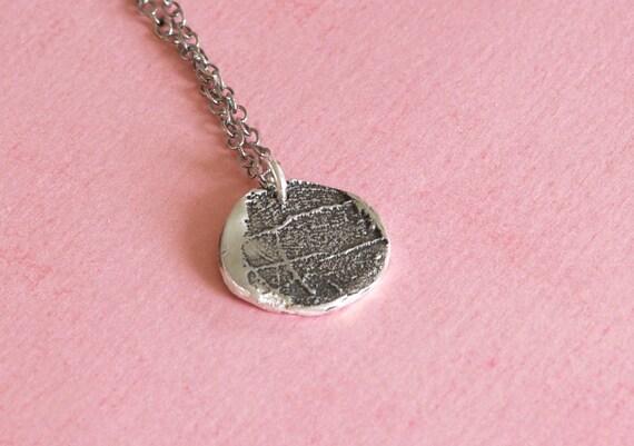 Fingerprint Jewelry - Child for Grandma