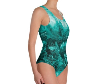 "Swimsuit ""Blue Flame"""