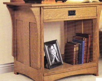 Bedside Nightstand Woodworking Plans