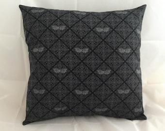 Gothic Bat cushion cover