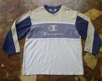 Vintage Champion Big Logo Sweatshirt