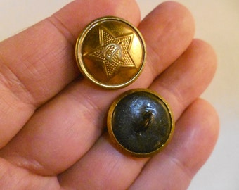 Button for the tunic of the army of the USSR.