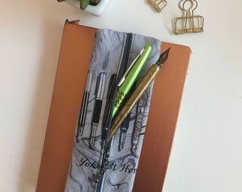 Pen Case, Pencil Case, Zipper Pouch, Zipper Pencil Case, Cherries, Gift for Her, Birthday Gift