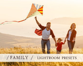 70 LIGHTROOM PRESETS for FAMILY w/ kids photography